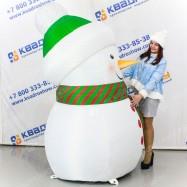 Надувной Снеговик Малыш