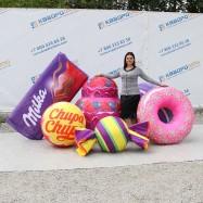 Надувные огромные муляжи сладостей