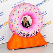 объемная рекламная фигура пончик