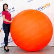Фигура надувная мяч оранжевый