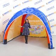 Воздухоопорная палатка