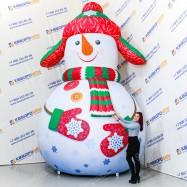 Фигура Снеговик для оформления ТЦ