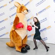 надувной костюм кенгуру для взрослого человека