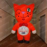 Надувной костюм Кот