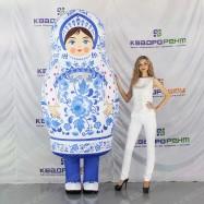 Надувной костюм для праздника