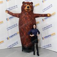 Надувной зазывала Медведь