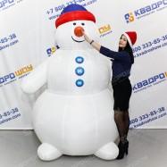 Новогодний Снеговик для декора