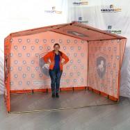 Разборная палатка размером 2х3 метра