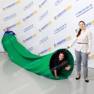 Игровой аттракцион тоннель зеленый