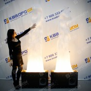 Имитация пламени с подсветкой