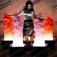Пламя декорационное