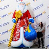 Надувной Дед Мороз классический