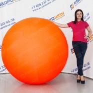 Шар надувной гигантский оранжевый