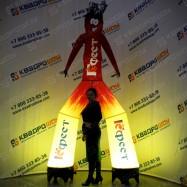 Аэромен рекламный с подсветкой