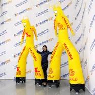 Воздушный рекламный человек GOLD-585