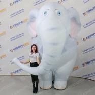 Надувной Слон костюм для промоутера