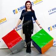 Кубики с разноцветными сторонами