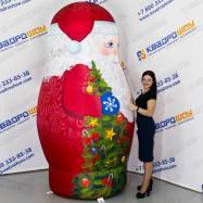 Матрешка Дед Мороз