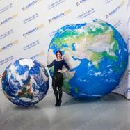 Надувные мячи макет планеты Земля