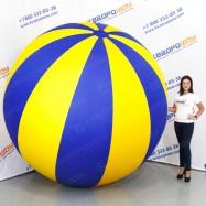 Мяч долька надувной