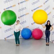 Надувной рекламный мяч