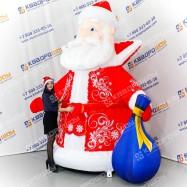 Фигура декорационная Дед Мороз надувной