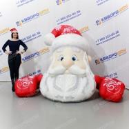 Надувная декорационная фигура Дед Мороз