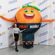 Надувной рекламный Апельсин