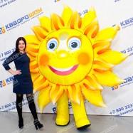 надувная фигура костюм солнышка для промоутера