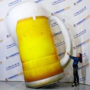 Надувная фигура Пивная кружка с напитком