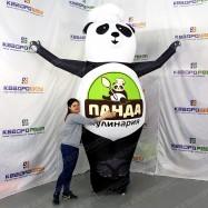 Пневмофигура панда в колпаке 3м