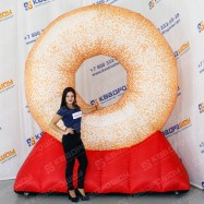 Фигура надувной Пончик