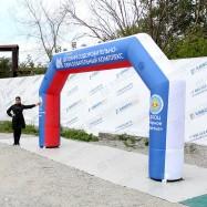 Надувная фигура арка для детских спортивных мероприятий