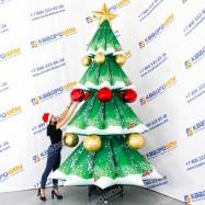 Надувной новогодний декор Ёлка