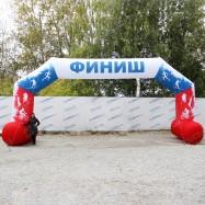 надувная финишная арка для марафона