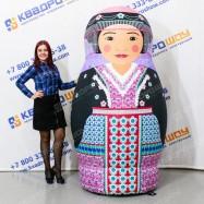 Надувная Матрешка киргизская