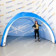 Надувная 4-опорная палатка на герметичном каркасе