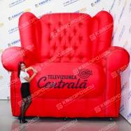 Надувная конструкция гигантское Кресло