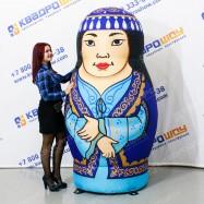 Надувная Матрешка таджичка