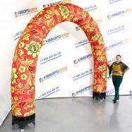 надувная ярмарочная арка для оформления входа