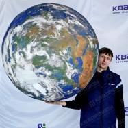 Надувной земной шар