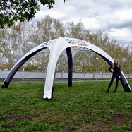 Арочный шатер для промоакций