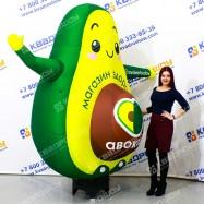 Надувное Авокадо для рекламы с машущей рукой