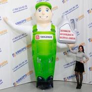Надувной рекламный Автомастер с канистрой