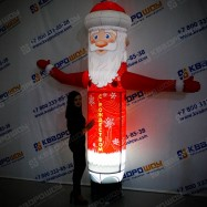 Фигура новогодняя Дед Мороз с подсветкой