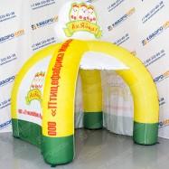 надувной фирменный рекламный шатер для птицефабрики