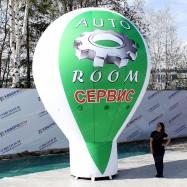 Надувная фигура геостат AutoRoom с принтом