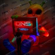 Надувной Инопланетянин ДНС с подсветкой