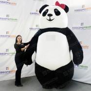 надувной костюм огромной панды для взрослого человека