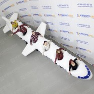 Командный аттракцион Самолёт на 6 участников